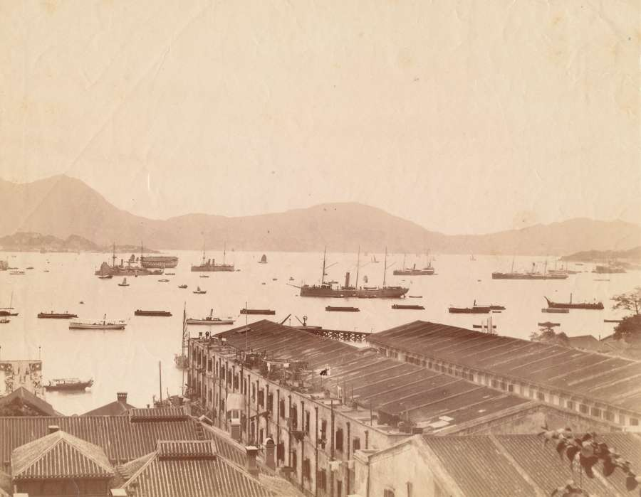 Hong Kong Harbor View China C1875
