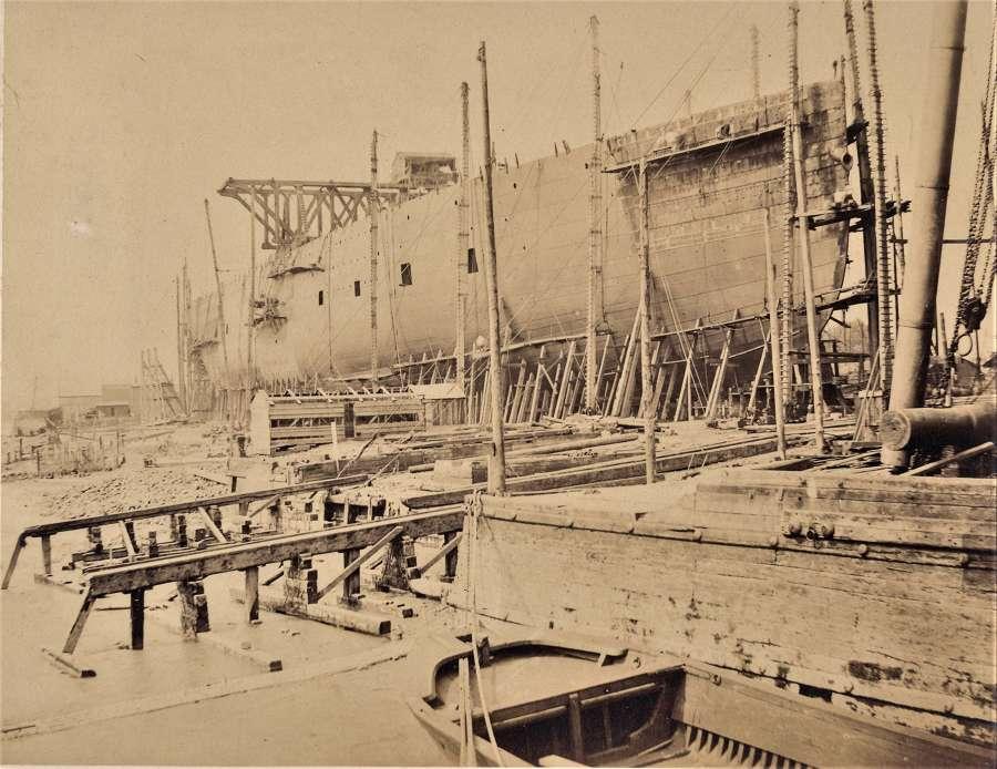 The Great Eastern Steam Ship. Robert Howlett May 1856