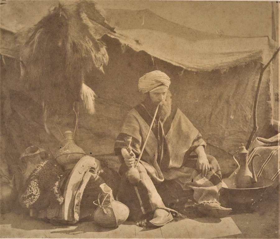 A Seated Arab An Orientalist Study William M Grundy C1855