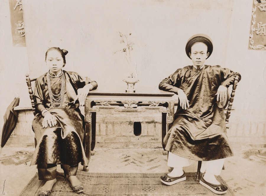 Native People Indochina Vietnam C1900