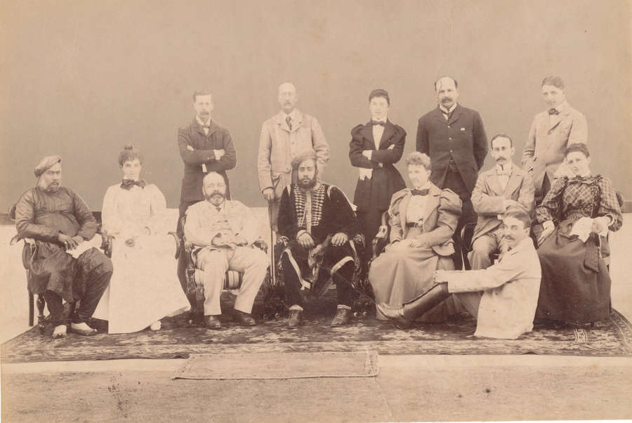 Queen Victoria's Household Staff at Osborne House. Abdul Karim