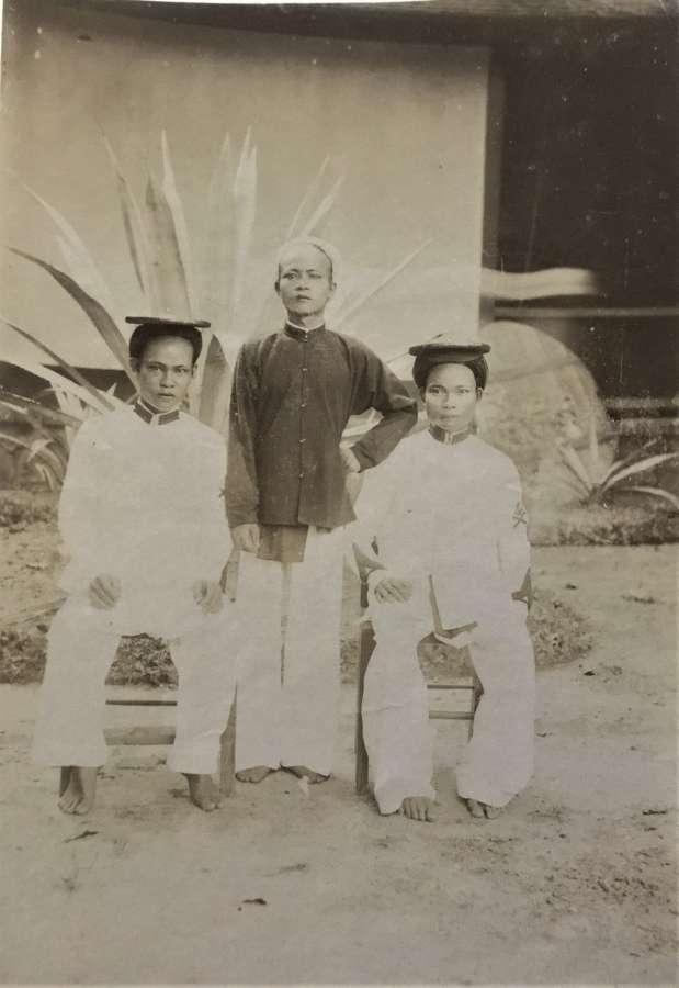 Indochina Vietnam Native People C1900