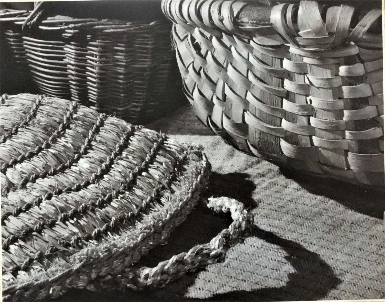 ' Basketry '  Margaret F. Harker. England 1954