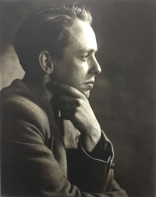 Portrait Study. T. Middleton, F.R.P.S.England 1954