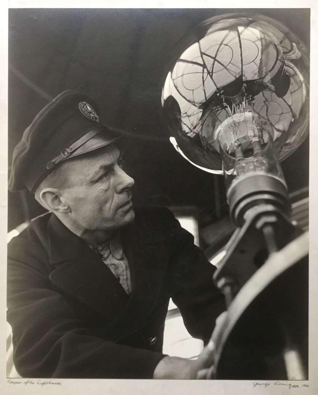 ' Keeper of the Lighthouse ' George Konig, England 1946
