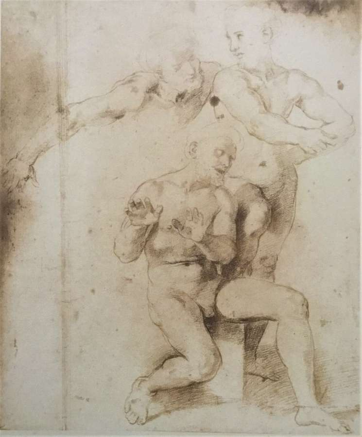 Art Work Drawing Italy C1850