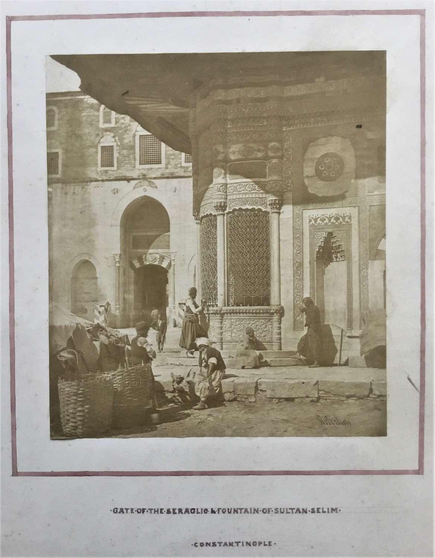 Selim Constantionople, Turkey, James Robertson C1855