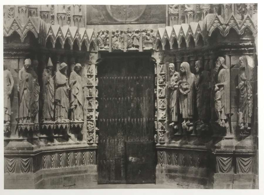 Reims Cathedral . France Henri Le Secq