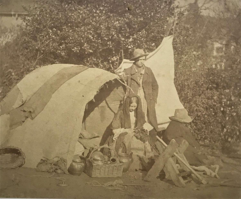The Gypsy Camp . An Orientalist Study C1855