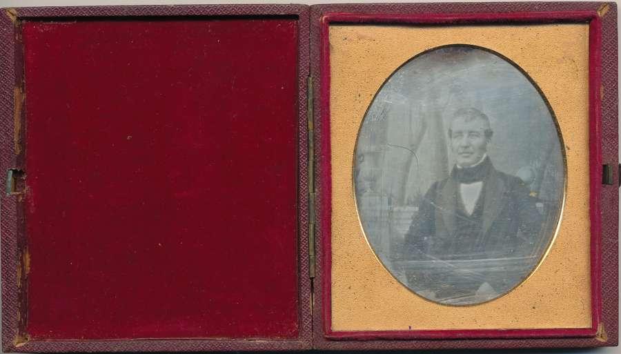 Early 1/6 Plate DaguerreotypeA Gentleman,Antoine Claudet C1842