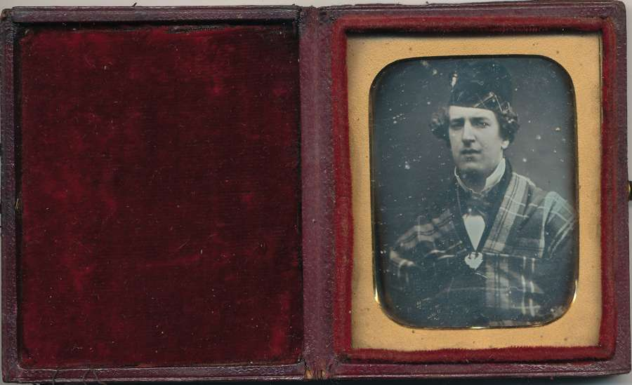 1/9 Plate Daguerreotype of A Gentleman Scottish ? C1845