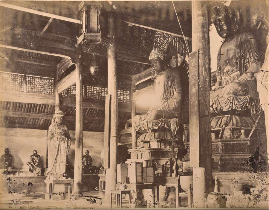 Temple Chinois Ningpo China C1885