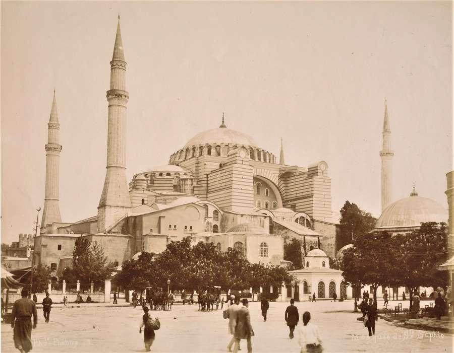 Hagia Sophia Istanbul Turkey C1895
