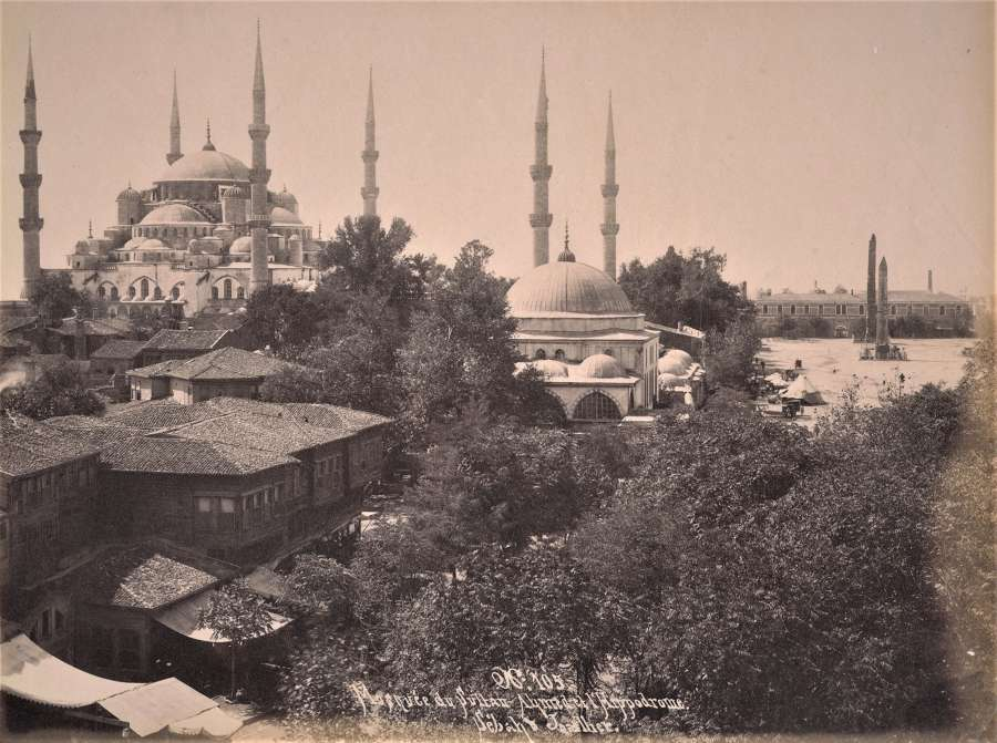 Hagia Sophia Istanbul Turkey C1875