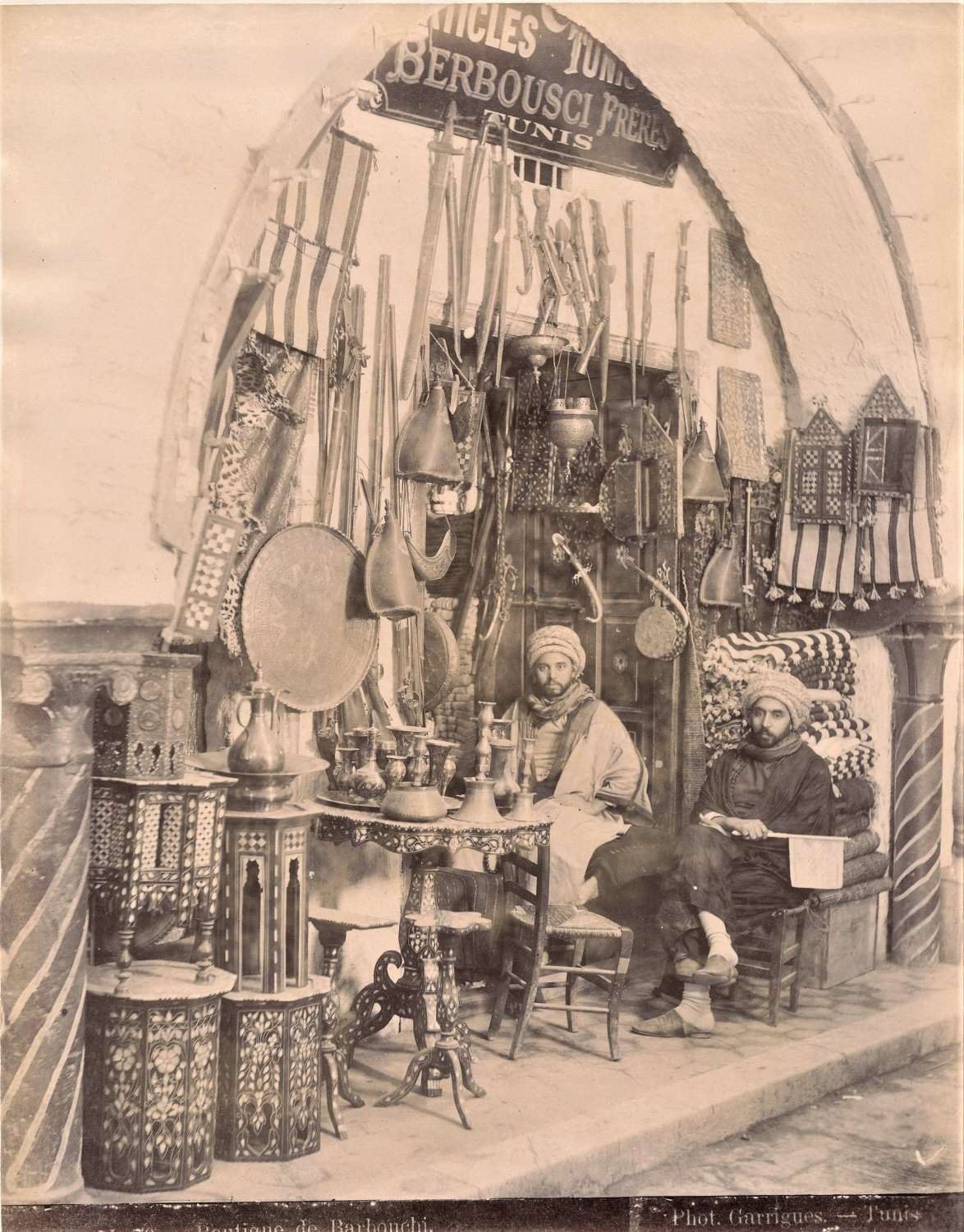 Curious Shop Tunisia By Garrigues C1880