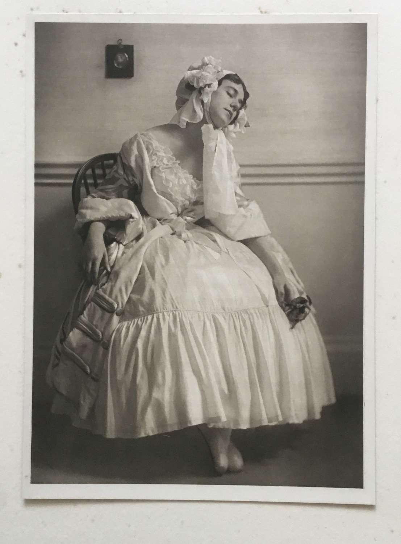 Tamara Karsavina in Le Spectre de la Rose.Emil Otto Hoppe