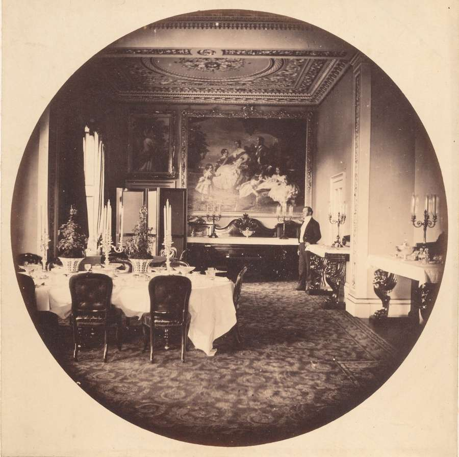 The Dining Room Osborne House C1858 William Lake Price ?