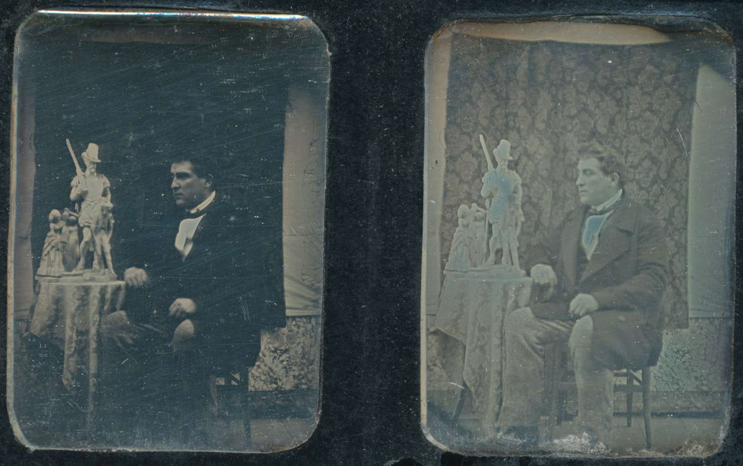 Stereoscopic Daguerreotype By London Stereoscopic Co. C1856