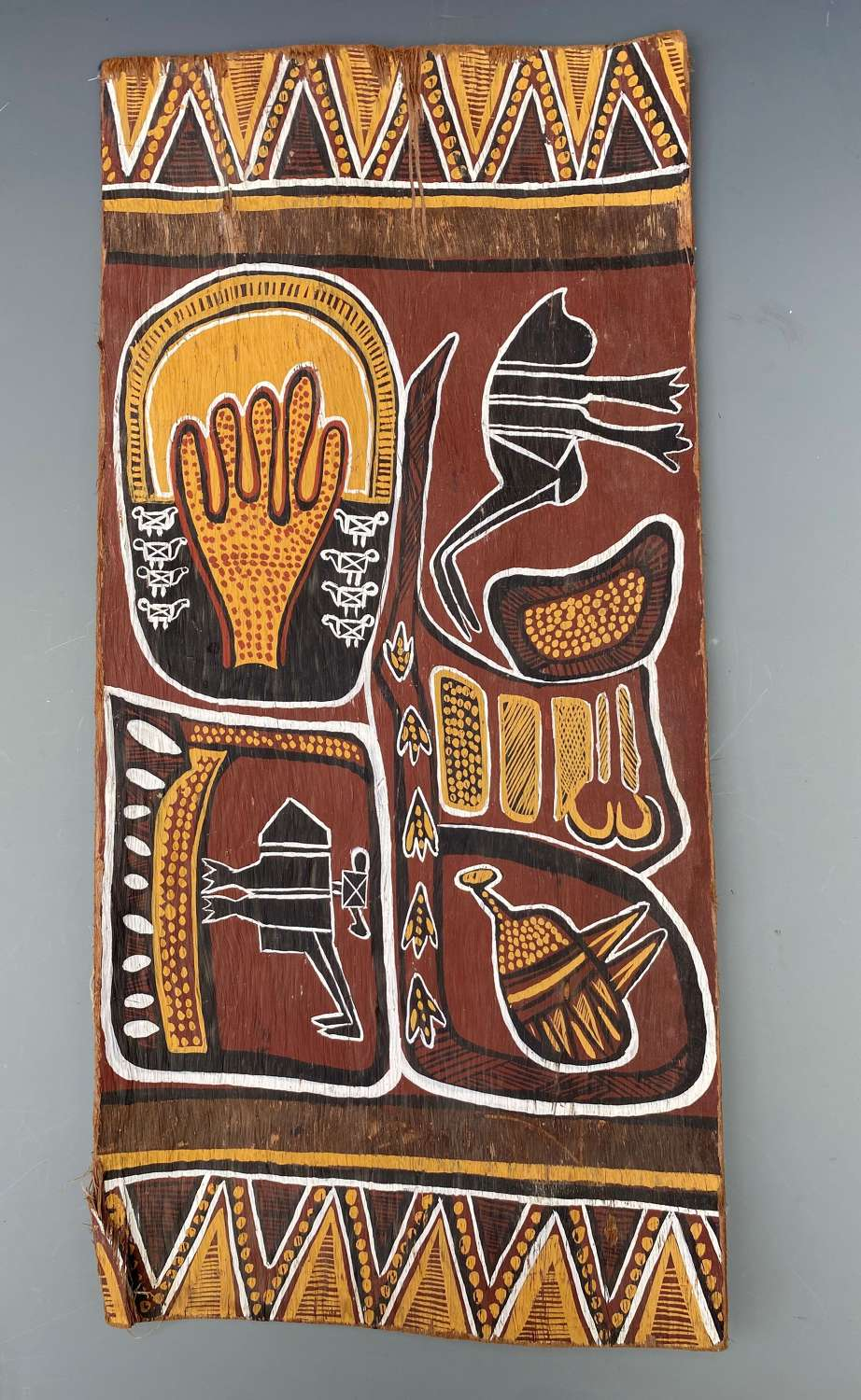 Aboriginal Bark Painting Australia