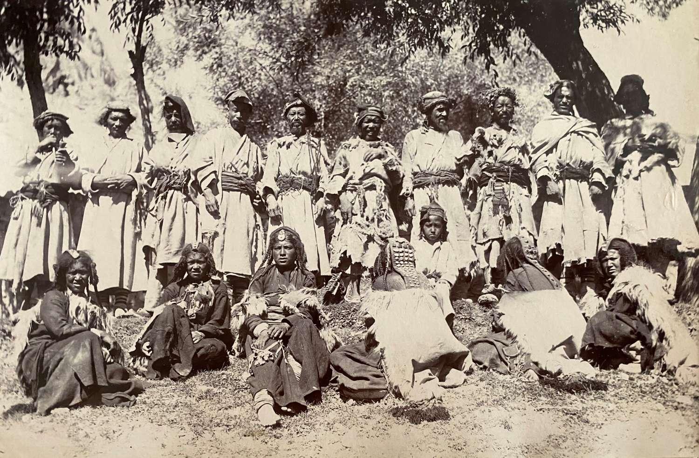 Ladakhi Men & Woman at Kargil India C1895