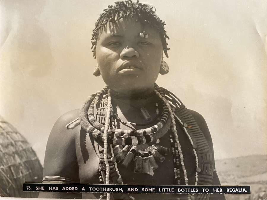 Zulu Girl South Africa C1930