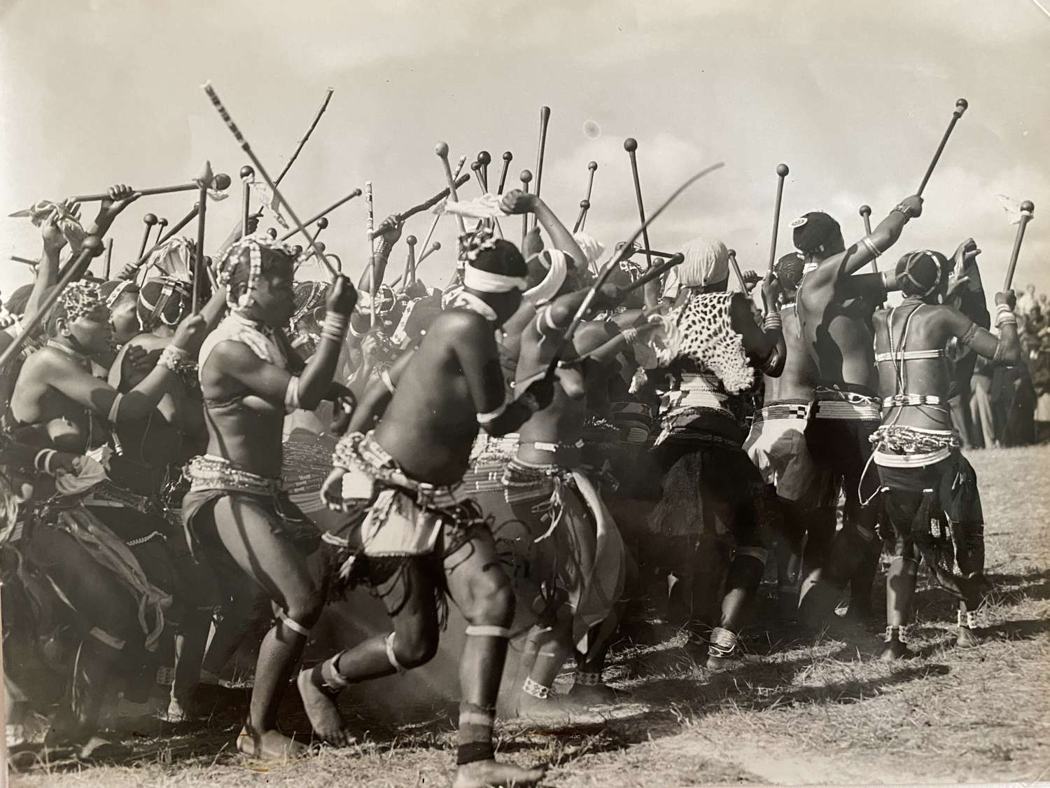 Zulu Ceremony South Africa C1930