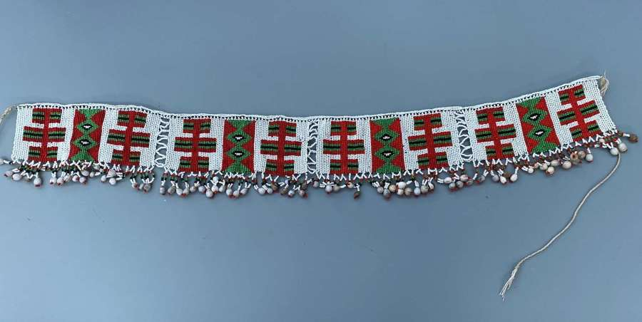 A Good piece of South African Zulu Bead work Waistband