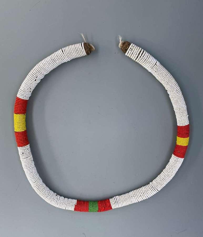 Zulu Bead work Roll, Necklaces, Waistbands, South Africa