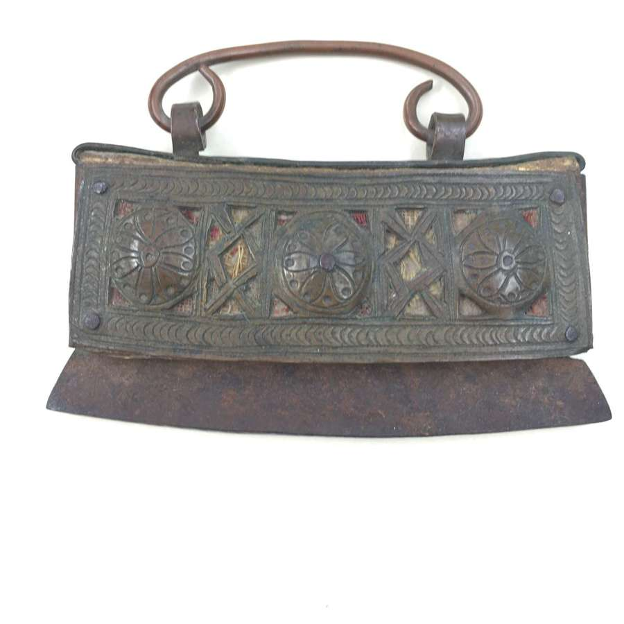 Antique Tibetan Tinder Purse  first half 19th century