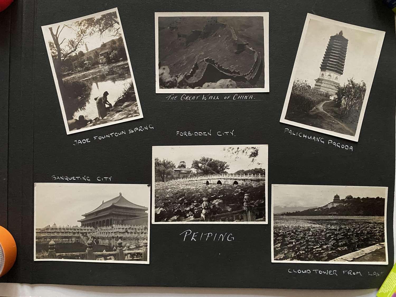 6 Photos View of Peiping ( Beijing ) China C1935