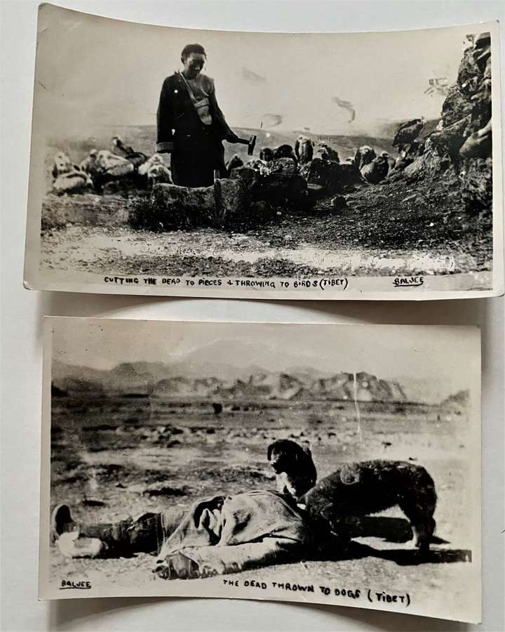2 Photos Tibet 西藏. China C1935 - 40