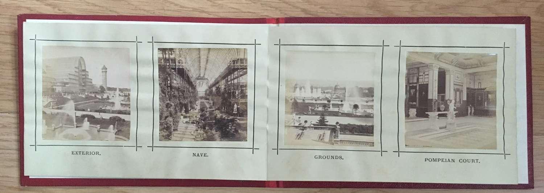 Bookof12 Original Photos of The Crystal Palace Exhibition C1860