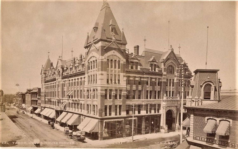 Opera House Denver U.S.A. By William Henry Jackson
