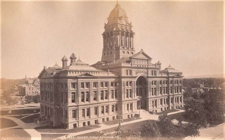 Court House Denver U.S.A. By William Henry Jackson