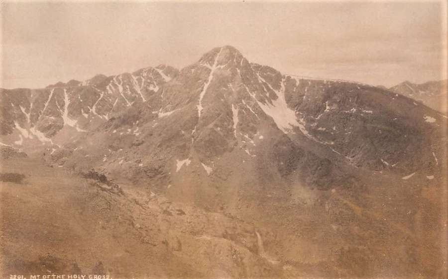 The Rocky Mountains The Holy GrossU.S.A C1880