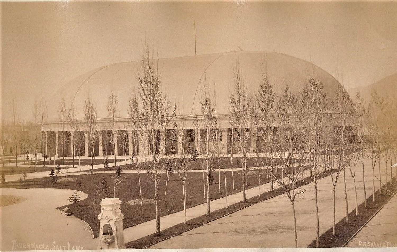 Tabernacle Salt Lake City U.S.A.By C.R.Savage. C1880
