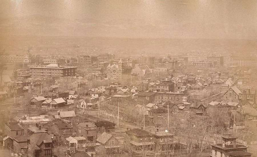Panorama From Capitol Hill DenverBy William Henry Jackson.
