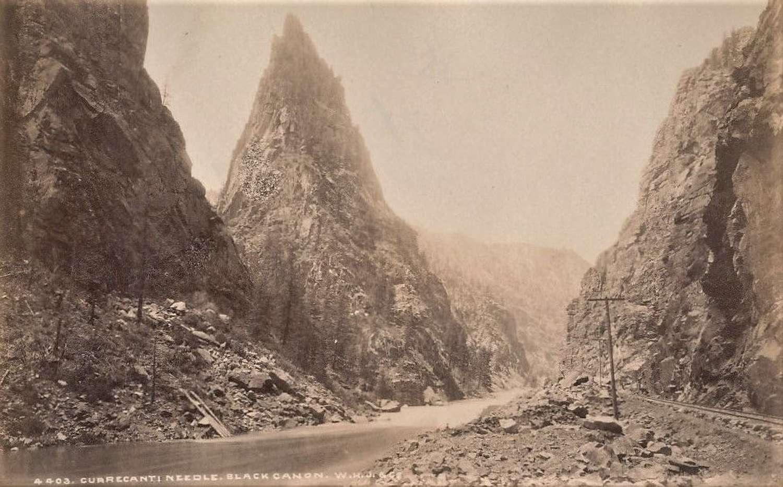 The Rocky Mountains Currecanti Needle Black Canon William H Jackson