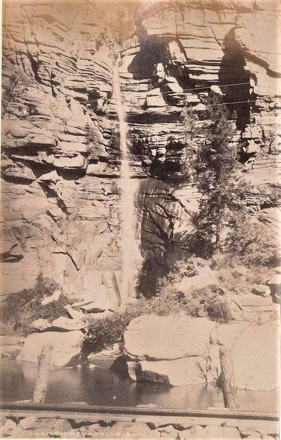 The Rocky Mountains Black Canon U.S.A C1880