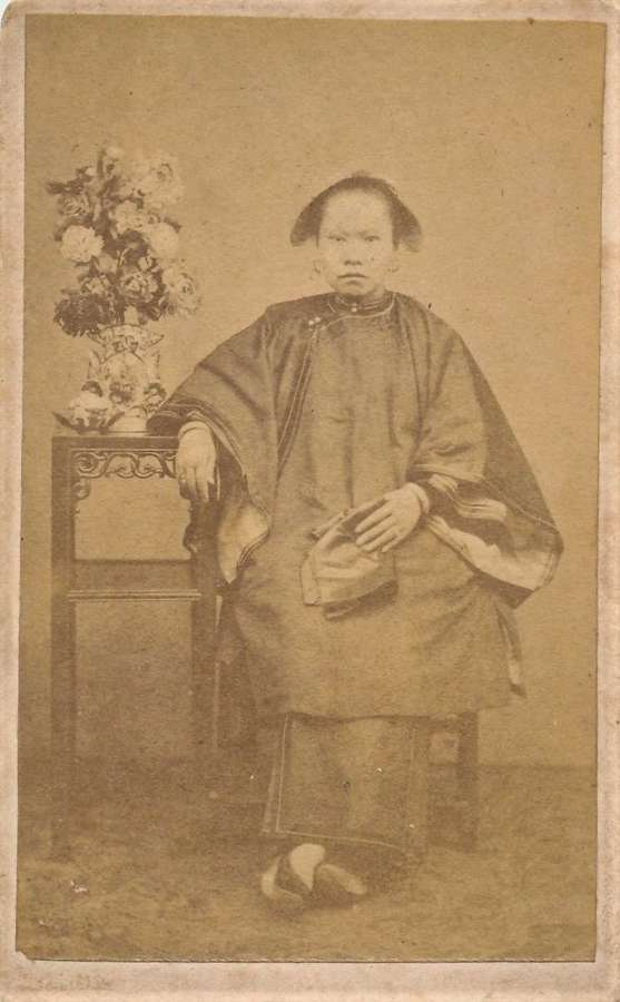 CDV Photo of A Chinese Lady. China C1870