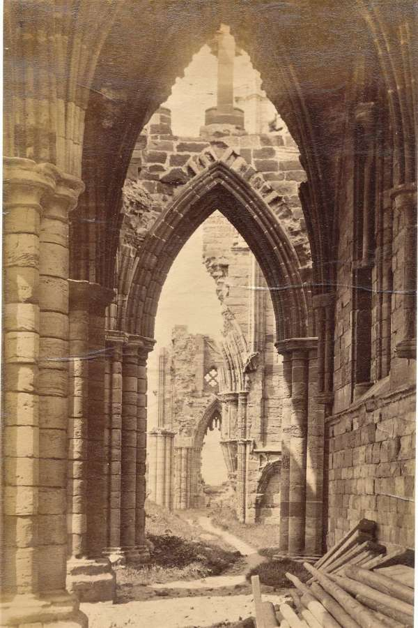 Whitby Abbey By F M Sutcliffe C1885 No, 598
