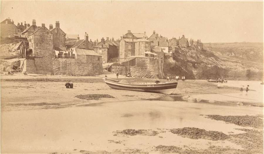 Robin Hood's Bay Whitby By F M Sutcliffe C1885