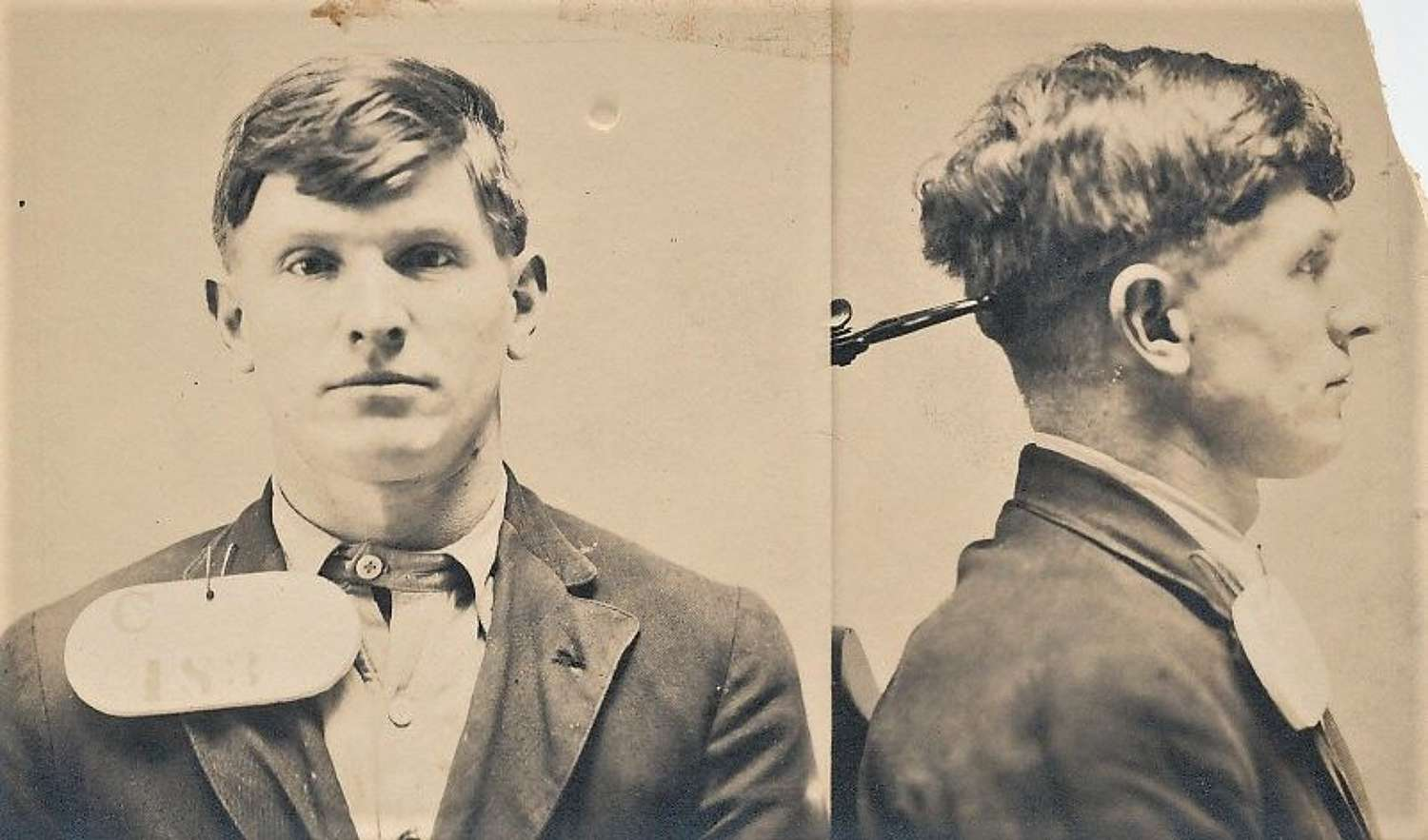 Photo Criminal Mugshots C1910 U.S.A