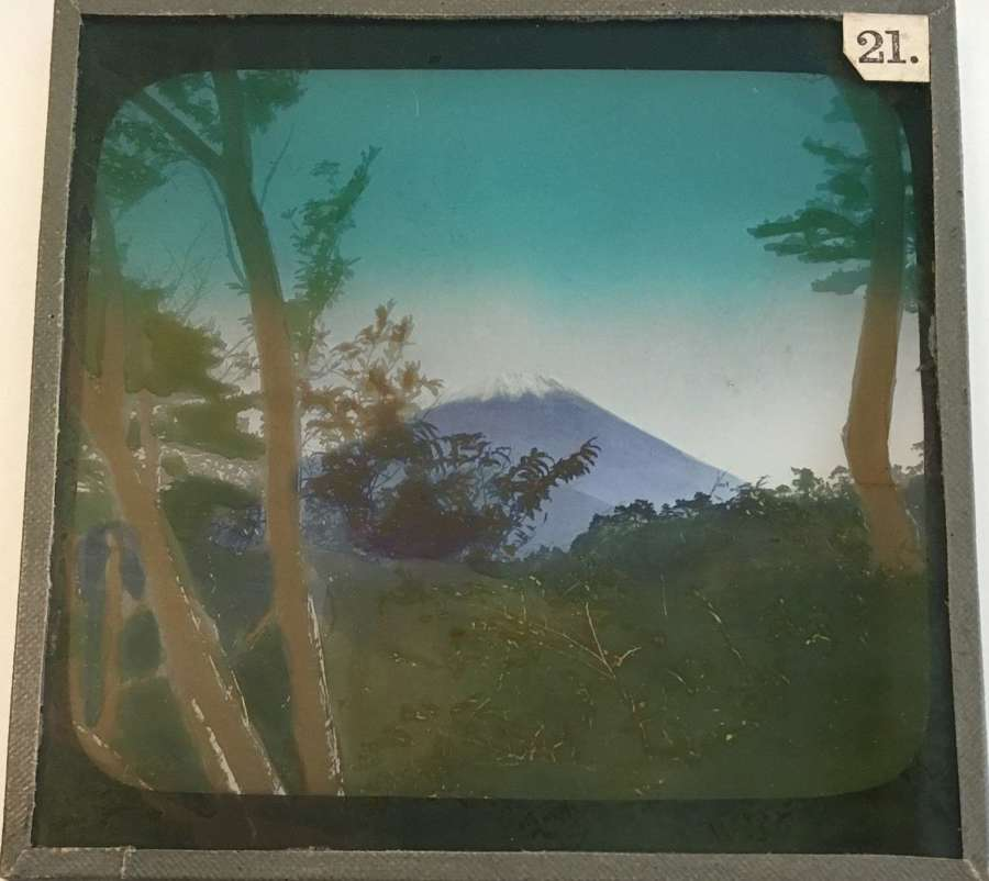 Lantern SlideView of Mount FujiJapan C1910