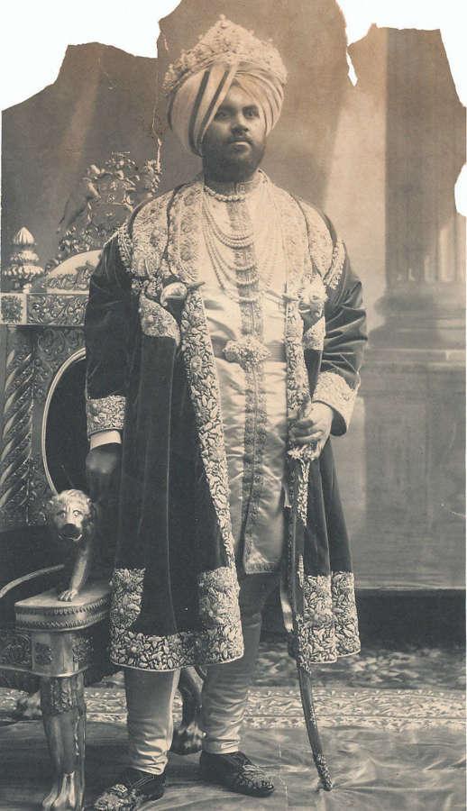 Photo of Jagatjit Singh, Maharaja of Kapurthala Punjab India 1903
