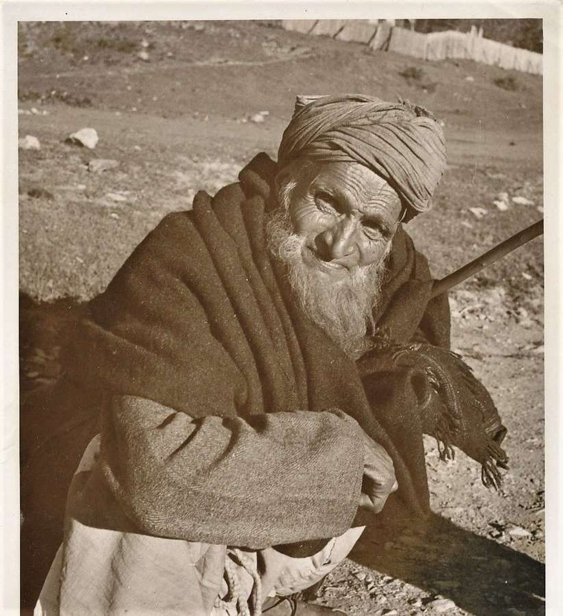 Native Man Kashmir ? IndiaC1920