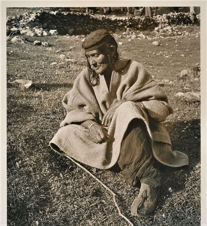 Native Woman Kashmir ? India C1920