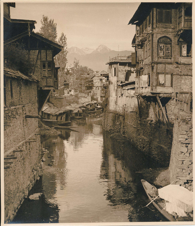 River Scenein Kashmir ? Kashmir India C1920