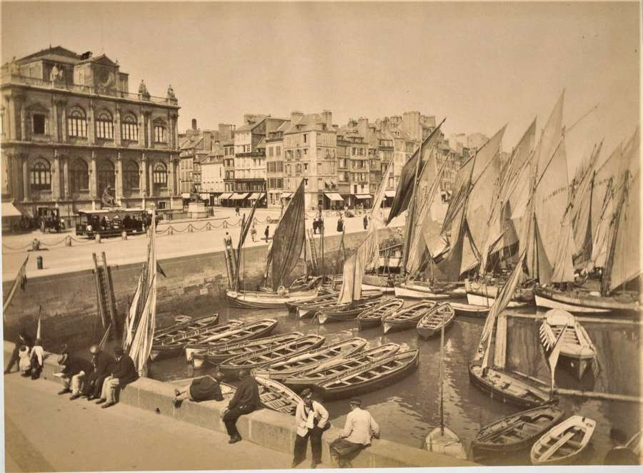 View of Le Havre France  C1880