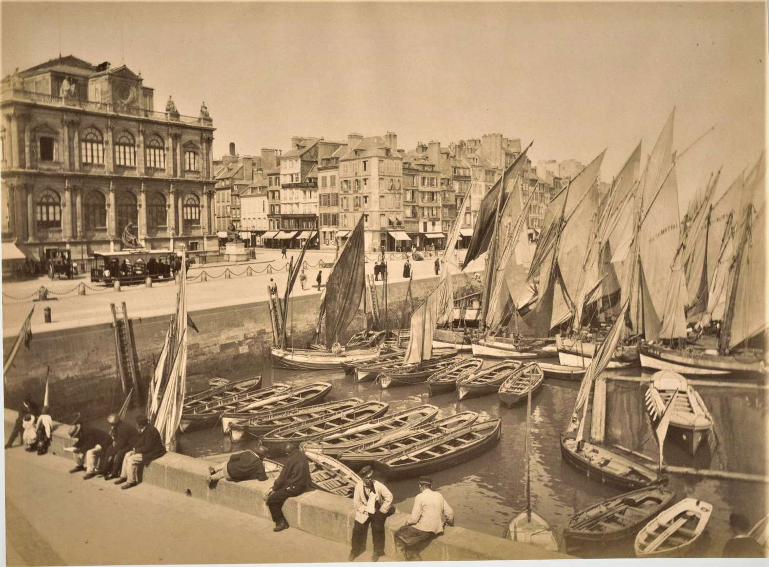 View of Le HavreFrance C1880